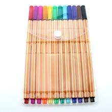 YDNZC маркер, тонкий наконечник, 0,4 мм, тонкий пластиковый карандаш, ручка для рисования эскизов, школьные принадлежности для художественного оформления, лайнер