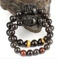 Amante pulseiras de Feng Shui riqueza Pixiu jóias pulseira sorte Animal Obsidain Piyao bracelete frisado jóias
