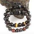 Lover's Bracelets Feng Shui Wealth Pixiu Bracelet Jewelry Lucky Animal Bracelet Obsidain Piyao Beaded Bracelet Jewelry