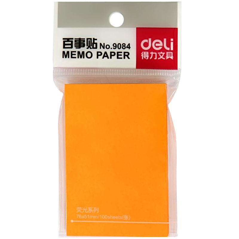 DL Effective 9084 color Pepsi paste imported fluorescent colored paper stickers stickers N facil Stationery for office
