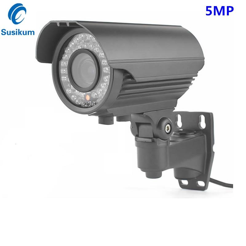 все цены на H.265 Bullet Zoom IP Camera 5MP 15FPS(4MP 25FPS) 2.8-12mm Lens Motion Detection Waterproof IR 40M P2P ONVIF Camera POE Optional онлайн