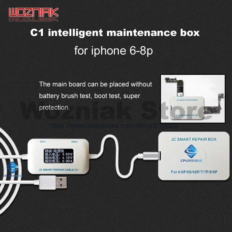 JC C1 Intelligent Smart Repair Box for iphone 6 6S 7 8 Plus motherboard charging / rooting / fault detect Intelligent repair a fault 7