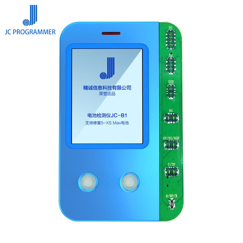 JC B1 iPhone Battery Tester Repair for iPhone XS Max XS XR X 8P 8 6SP 6S 6P 6 5S SN Number Battery Life Capacity Reader