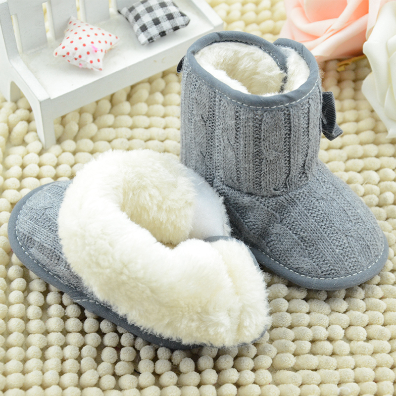 2017-New-Baby-Girl-Knit-Bowknot-Faux-Fleece-Snow-Boot-Soft-Sole-Kids-Wool-Baby-Shoes-First-Walkers-Size-111213cm-Infant-boots-5