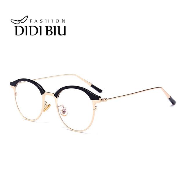 d174115ce871f DIDI TR90 Armação dos óculos de Titânio Ajustável Rodada Armações de óculos  Transparentes Óculos Claros Óculos