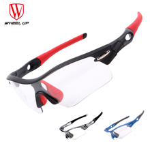 Photochromic Cycling men sunglasses jogging running Polorized Discolored
