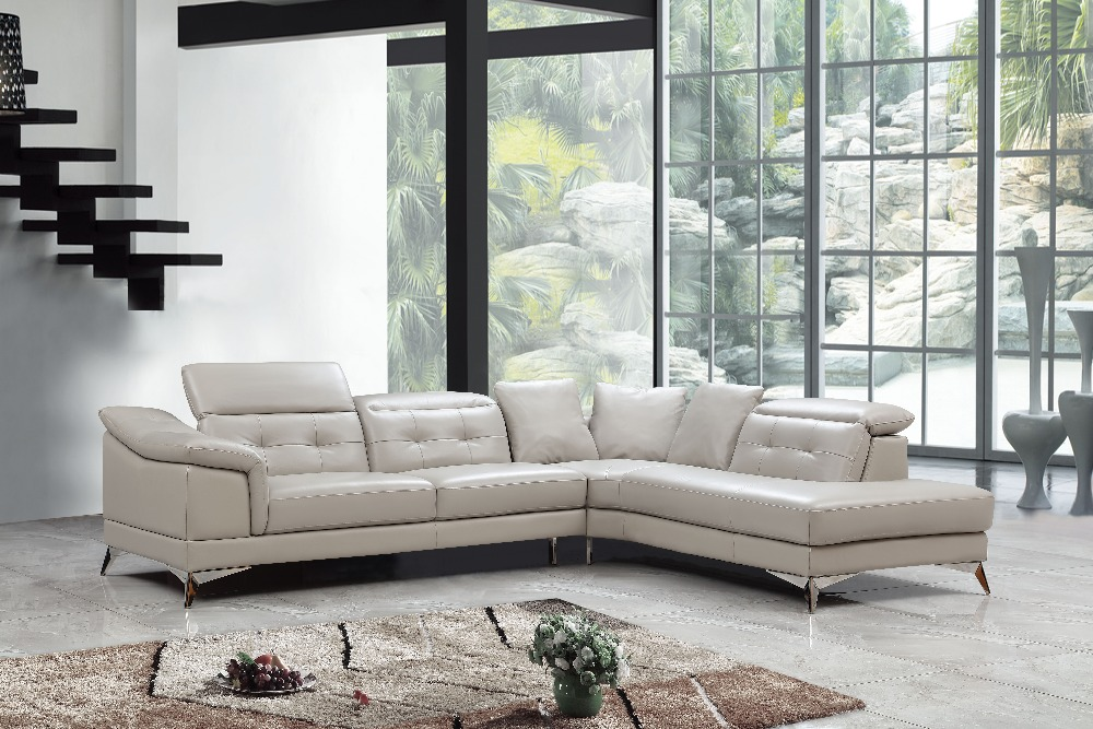 Modern Sofa Ruang Tamu Furniture Corner Sofa L Bentuk Sofa Set Desain