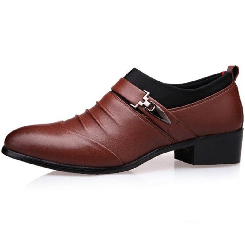 2018 Müßiggänger Männer Schuhe Hochzeit Oxfords Formale Schuhe Männer Herren Kleid Schuhe Schuhe Herren Sapato Masculino Social Mönch Strap Loafer Um Jeden Preis
