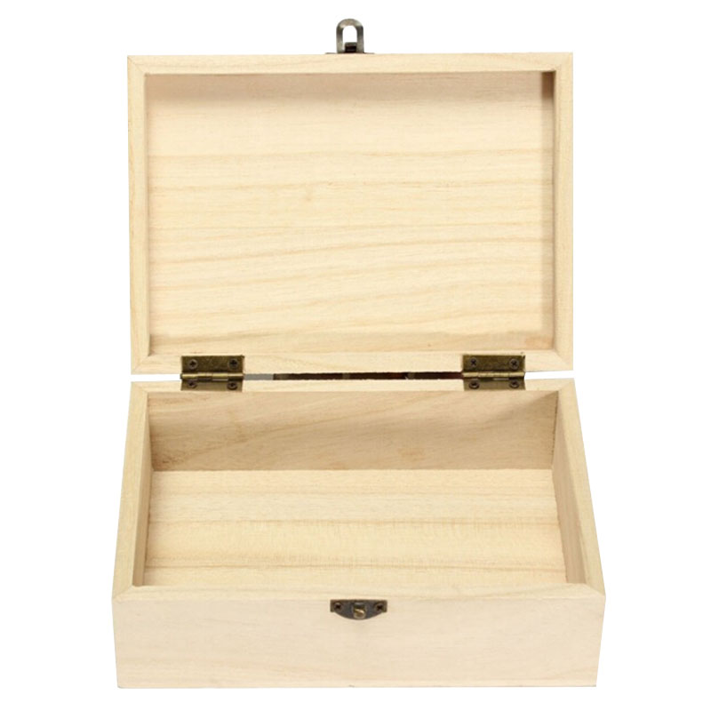 Large New Wooden Storage Box Diy Crates Toy Boxes Set: Home/Room/Office Storage Box Wooden Organizer Lock Boxes
