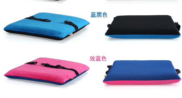 2016 Slow Rebound Memory Foam Cushion Car Office Computer Chair Student Chair  Cushion Pad Thick Summer Free Shipping LH631