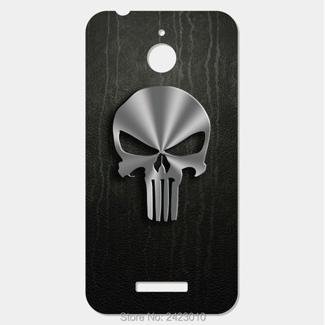 The Punisher Skull Logo Cover Mobile Phone Case For Htc Desire 510