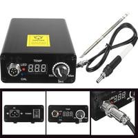 4pcs Set Digital Soldering Iron Station Adjustable Temperature Welding Solder T12 Handle
