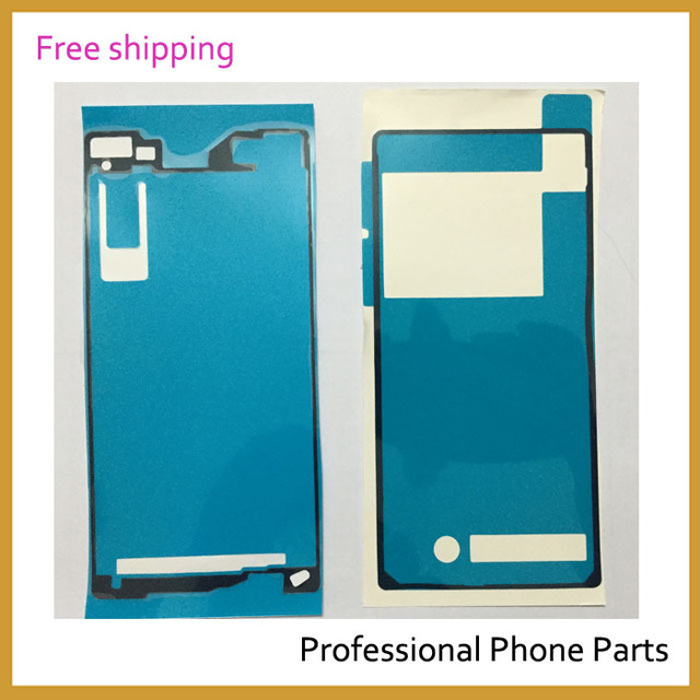 New Original Waterproof Glue Battery Back Door + LCD Frame Adhesive Sticker Glue For Sony Xperia Z2 D6503 D6502 D6543 L50W