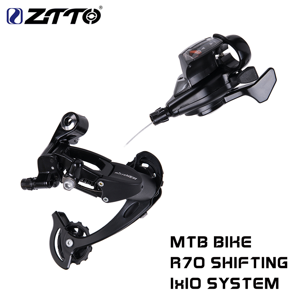 Mountain Bike R70 1X10 10 Speed Shifter MTB Bicycle Rear Derailleur Shifters Groupset For Shimano m610 m670 x5 x7 10s System bicycle mtb 3x10 30 speed front rear shifter derailleur groupset for shimano m610 m670 m780 system