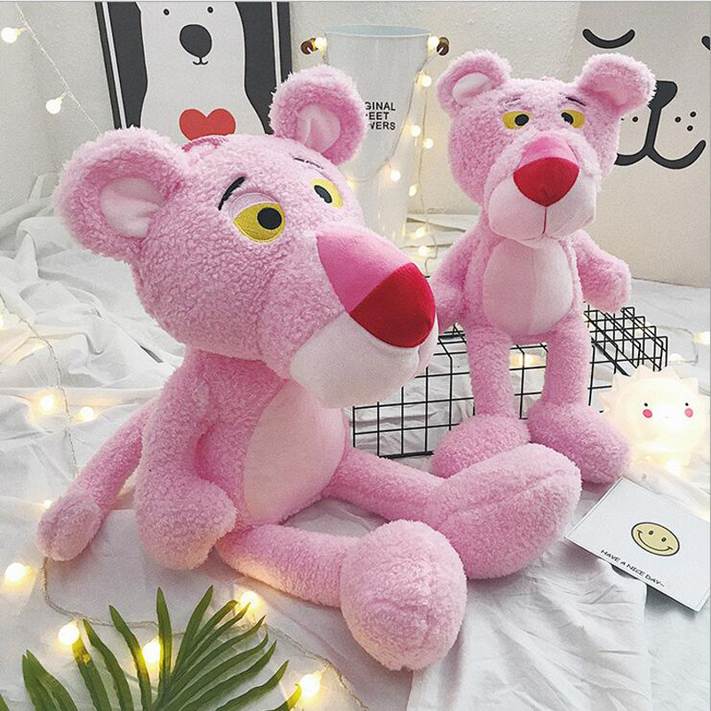 New Style Lovely Pink Panther Toys Stuffed Animal Plush Toy Soft Plush Doll Best Gift Send Children or Friends