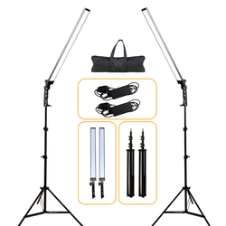 GSKAIWEN Professional Dimmable Photography Light Studio Phone Video LED Lighting Lamp With Tripod Stand For Camera Shooting