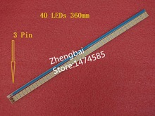 """חדש 4 יחידות T315HW07 32 """"תאורת LED אחורית בר מזחלת 2011cb320 REV 1.0 40 נוריות 360 מ""""מ * 6 מ""""מ 109 321 17"""