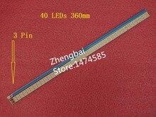 """New 4 PCS T315HW07 32"""" LED backlight bar SLED 2011cb320 REV 1.0 40 LEDs 360mm*6mm 109 321 17"""
