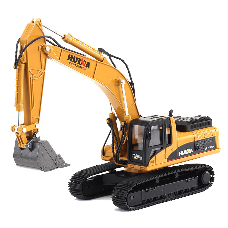 1:40 Crawler Excavator Truck Toys Construction Vehicle Alloy Car Model Toys For Children Cars