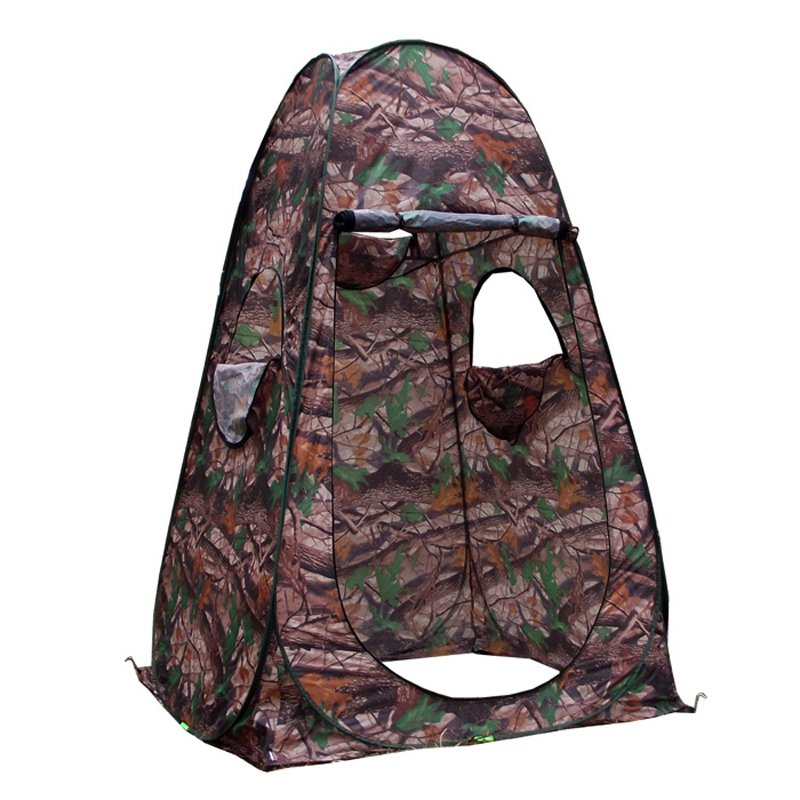 Outdoor bird bath warm shed camouflage fishing photographymodel dressing tent as mobile toilet locker
