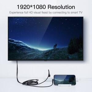 Image 4 - Vention 8 دبوس إلى HDMI كابل آيفون 6 7 8 X باد الهاتف الذكي iOS الهاتف إلى HDMI محول 1080P USB إلى HDMI محول للتلفزيون HDTV