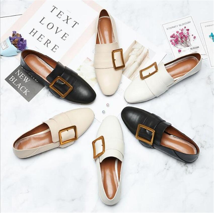 ZOUDKY/2018 г. новый стиль, квадратный каблук, Женская грубая мелкая коровья кожа, лаковая модная повседневная обувь