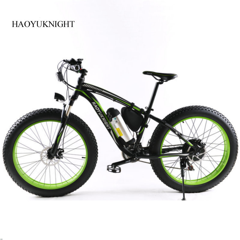 Electric snowmobile V inch smart lithium bike electric bike inch large wheel