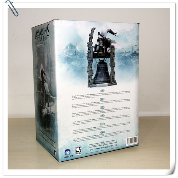 NEW hot 28cm Assassins Creed Altair Ibn-La Ahad Edward Action figure toys doll collection Christmas gift with box new hot 23cm the frost archer ashe vayne action figure toys collection doll christmas gift with box