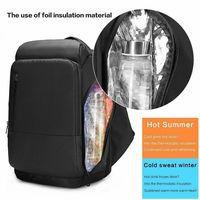 NEW Men Travel Laptop Backpack Water Repellent Functional Rucksack with USB Port