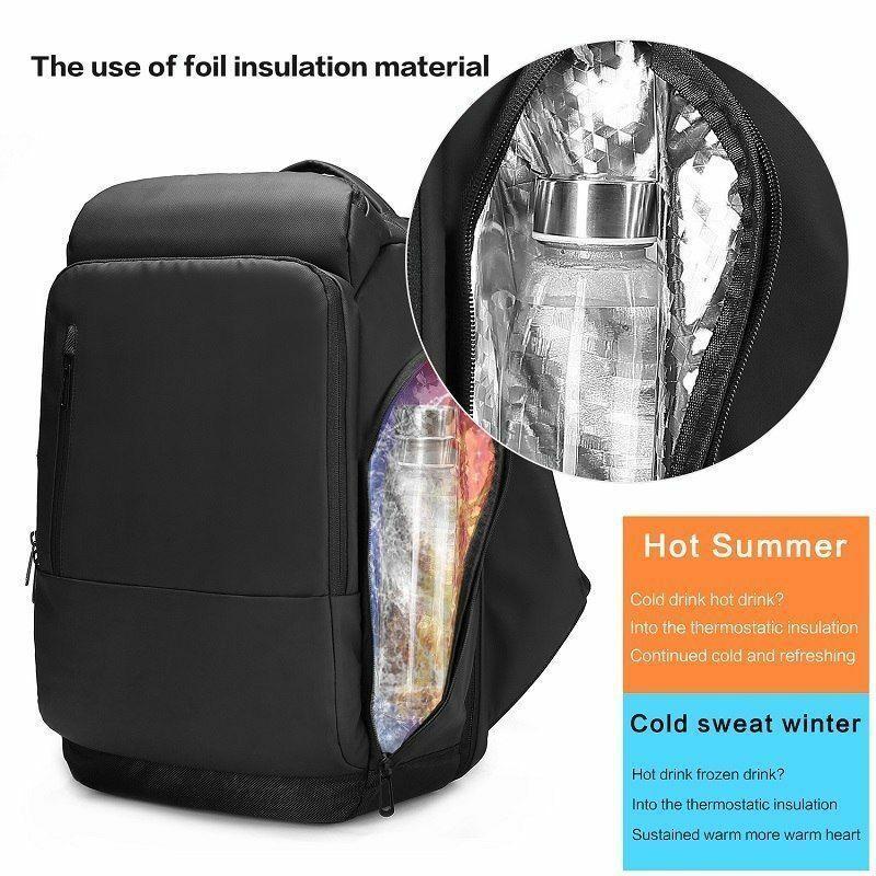 Nouveau sac à dos de voyage pour ordinateur portable sac à dos fonctionnel hydrofuge avec Port USB