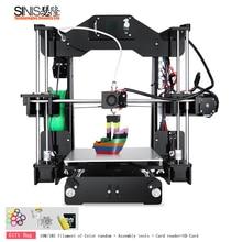 2018 Sinis Z1 3d Printer Reprap i3 DIY KIT mini 3D Large Size 220*220*240MM and filament+ 8G SD card
