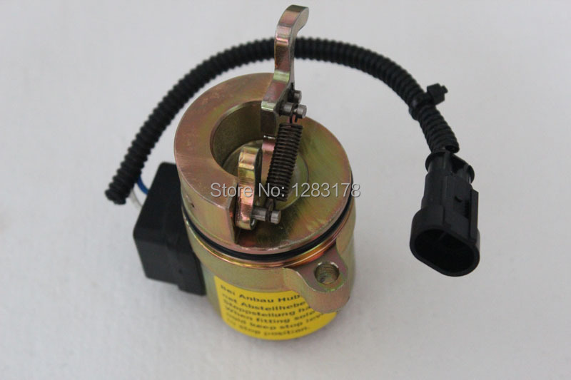 DEUTZ FL1011 FUEL SHUTOFF SOLENOID VALVE 12V 04272956 / 0427 2956,free shipping (DHL,Fedex,UPS,TNT) 3924450 2001es 12 fuel shutdown solenoid valve for cummins hitachi