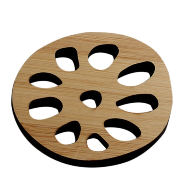 Bamboo Coaster Insulated Teapot Mat