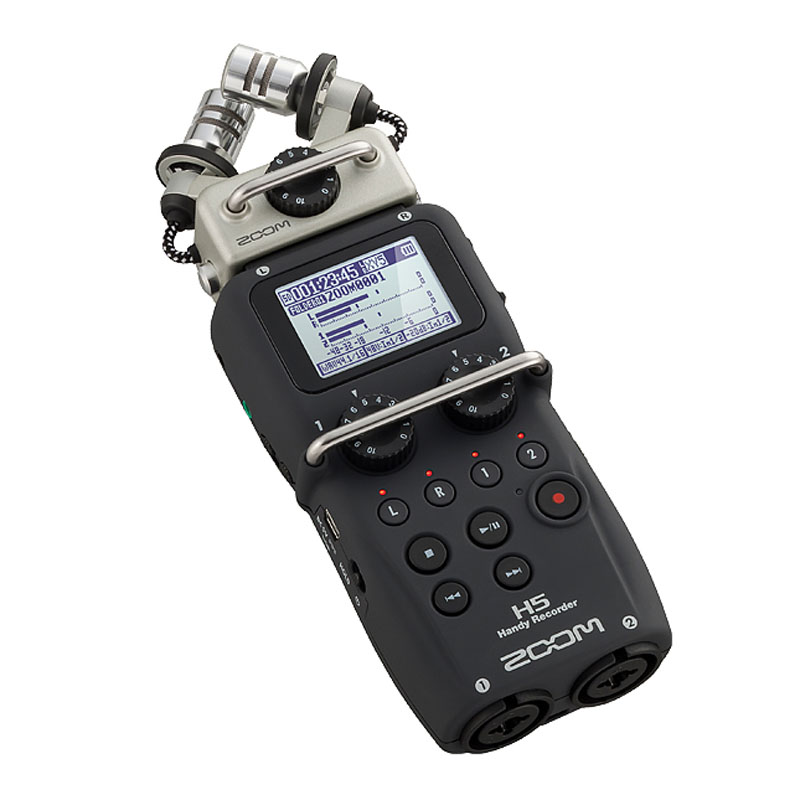 ZOOM H5 professional handheld digital recorder Four-Track Portable Recorder H4N upgraded version digitalfoto professional portable four track zoom h4nsp handy recorder digital audio recorder microphone for interview