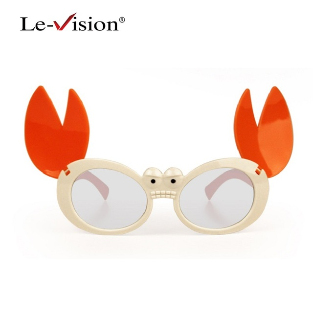 Free Shipping Le-Vision LSZ042 Passive 3D Kids Theater Glasses Polarized for 3D TVs/ Home Theater PC Framed 3D Vision Glass