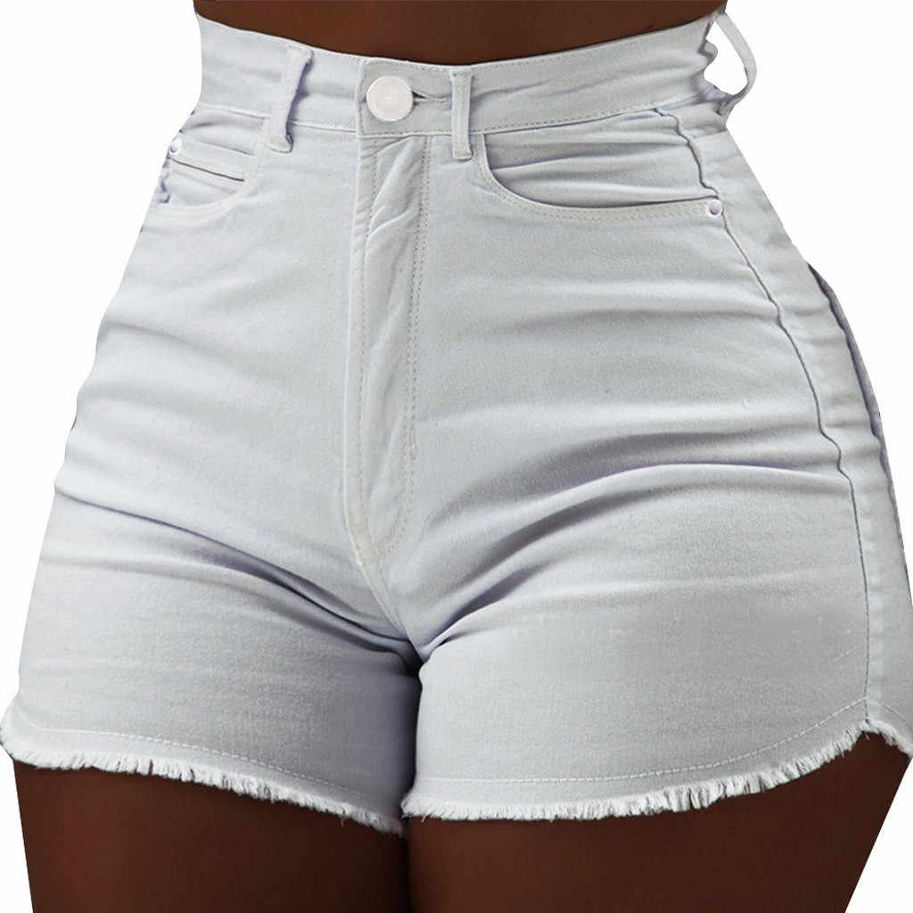 Hoge Taille Sexy Vrouwen Shorts Zomer 2019 Streetwear Casual Slim Fit Bodycon Vrouwen Shorts Pantalones Cortos Mujer
