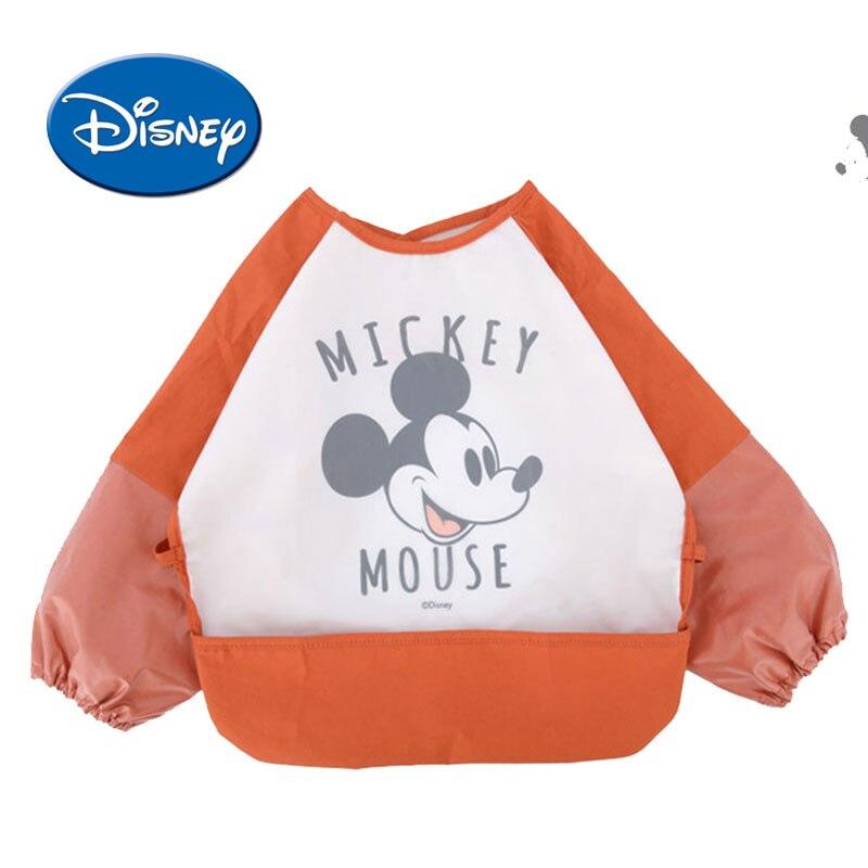 Disney Cotton Baby Bibs Mickey Burp Waterproof Saliva Towel Minnie Cartoon Children Cloths Cotton Bib Babador Accessories