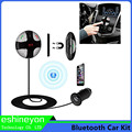 2016 Bluetooth FM Transmitter Adapter With USB Charger LED Display MP3 Player TF Card Slot Car Kit Handsfree Calling Magnetic