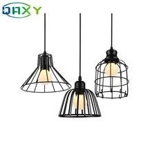 Подвесной светильник E27, 110 240 В, черная железная лампа в форме бутылки в гардеробной комнате [D8305], новинка 2019