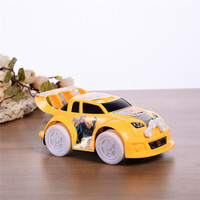 Mini Electric Toy CarUniversal Car Light Music Racing Car Automatic Steering Toy Car Children Toys Car