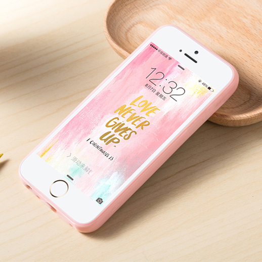 Candy Color TPU Rubber Case Cover for iPhone7 6s 5 5s 5c 4 4s