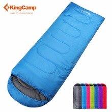 KingCamp Saco de Dormir Ultraligero Algodón Lazy Bag All Season Equipo de Camping Al Aire Libre Saco de dormir 220X75 cm Siete Colores