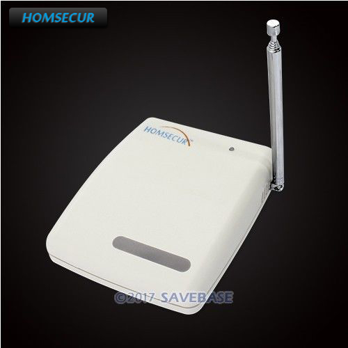 HOMSECUR 433MHz Home Alarm Accessories(Smoke Sensor/Gas Sensor/Signal Repeater etc) For Our 433MHz Home Alarm Systems