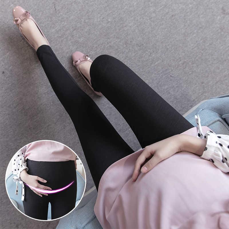 SLYXSH новая весенняя хлопковая одежда для беременных Осенняя Женская одежда для легинсы для беременных Одежда для беременных