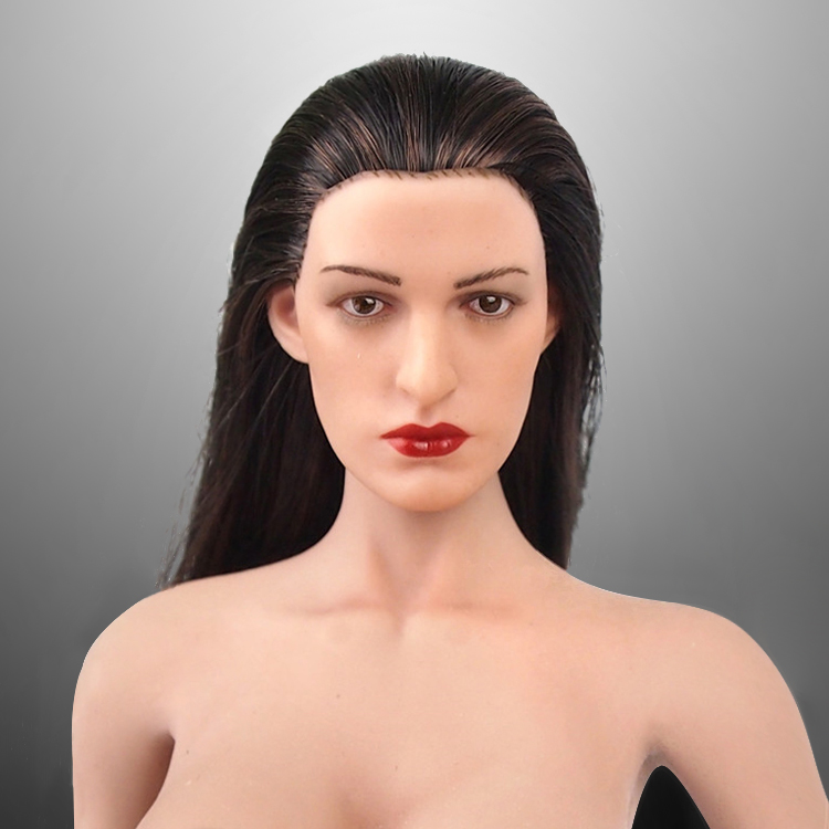 1/6 scale figure doll head for 12 action figure doll accessories.Catwoman Anne Hathaway figure head sculpt,not included body 20 pcs dc jack tablet pc 0 7mm charging charge socket power connector for vido n101 n90s cube u23gt u18gt u9gt2