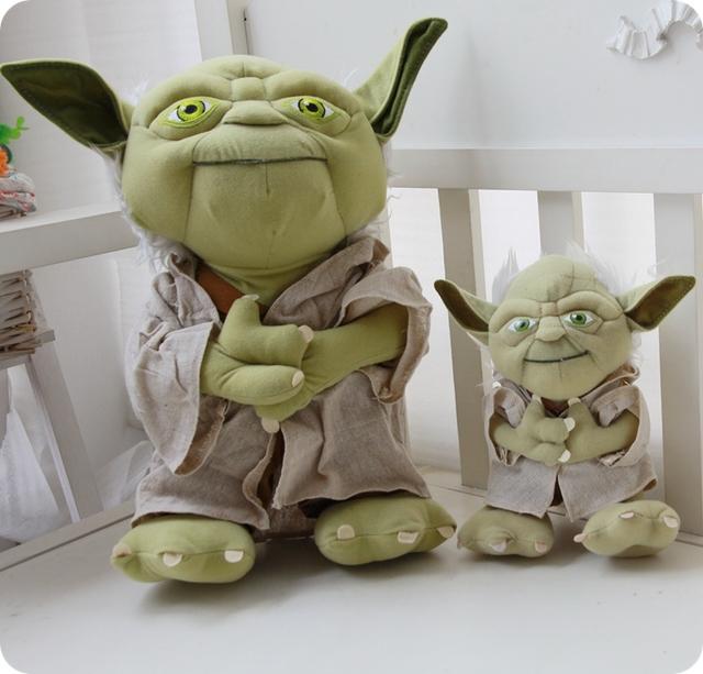 Original Star Wars Yoda  Plush Toy Cosplay Costume Soft Stuffed Doll