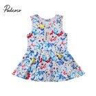 Cute Baby Girls Dress Elegant Girl Clothes Summer Newborn Kids Baby Girl Butterfly Dress Princess Dress Party Baby Girl Clothes