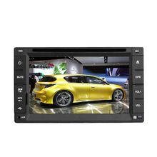 "6.2 ""Doble 2 Din Autoradio Del Coche MP5 Reproductor de DVD CD AM Radio FM Estéreo Con Pantalla Táctil Bluetooth MIC EQ Audio iPod AUX-IN SWC + Remote"