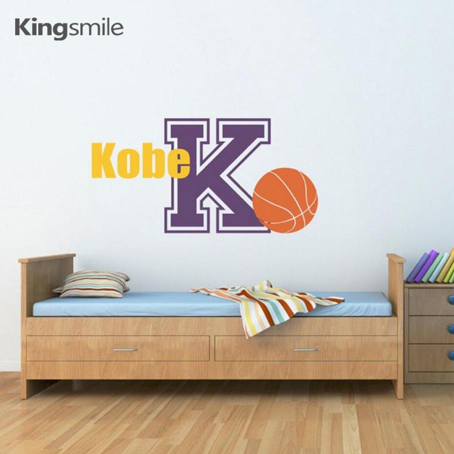 chambre à coucher enfants Personnalisé Nom /& FOOTBALL Wall Art Custom Vinyle Autocollant garçons