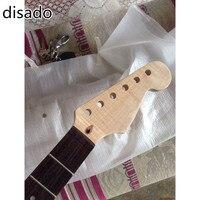 Disado 22 Лады тигровый клен дерево цвет Электрогитара шеи палисандр гриф аксессуары для гитары
